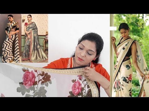 Designer Sarees ll Online Shop ll My Life & Fashions ll 6 March 2018