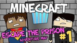 "Minecraft - ""ESCAPE THE PRISON"" Part 1: Guilty as charged!"