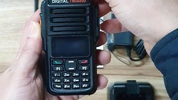 2020년 최신형 디지털 무전기 TMI4800. 작고 성능좋은 디지털무전기.건설현장,주차관리,호텔,백화점무전기 추천.