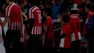 Calentamiento Athletic Club vs RC Celta