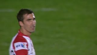 Ruan Pienaar hooks penalty wide  - Scarlets v Ulster 2nd Nov 2013