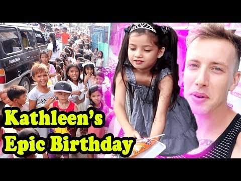 KATHLEENS AMAZING 8TH BIRTHDAY |Fil-Am kids in the Philippines