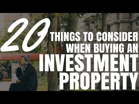 20 Things To Consider When Buying An Investment Property (Ep197)