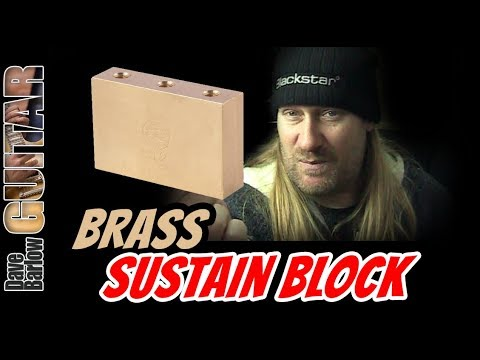 Does a Floyd Rose Brass Sustain Block Give You More Tone and Sustain?