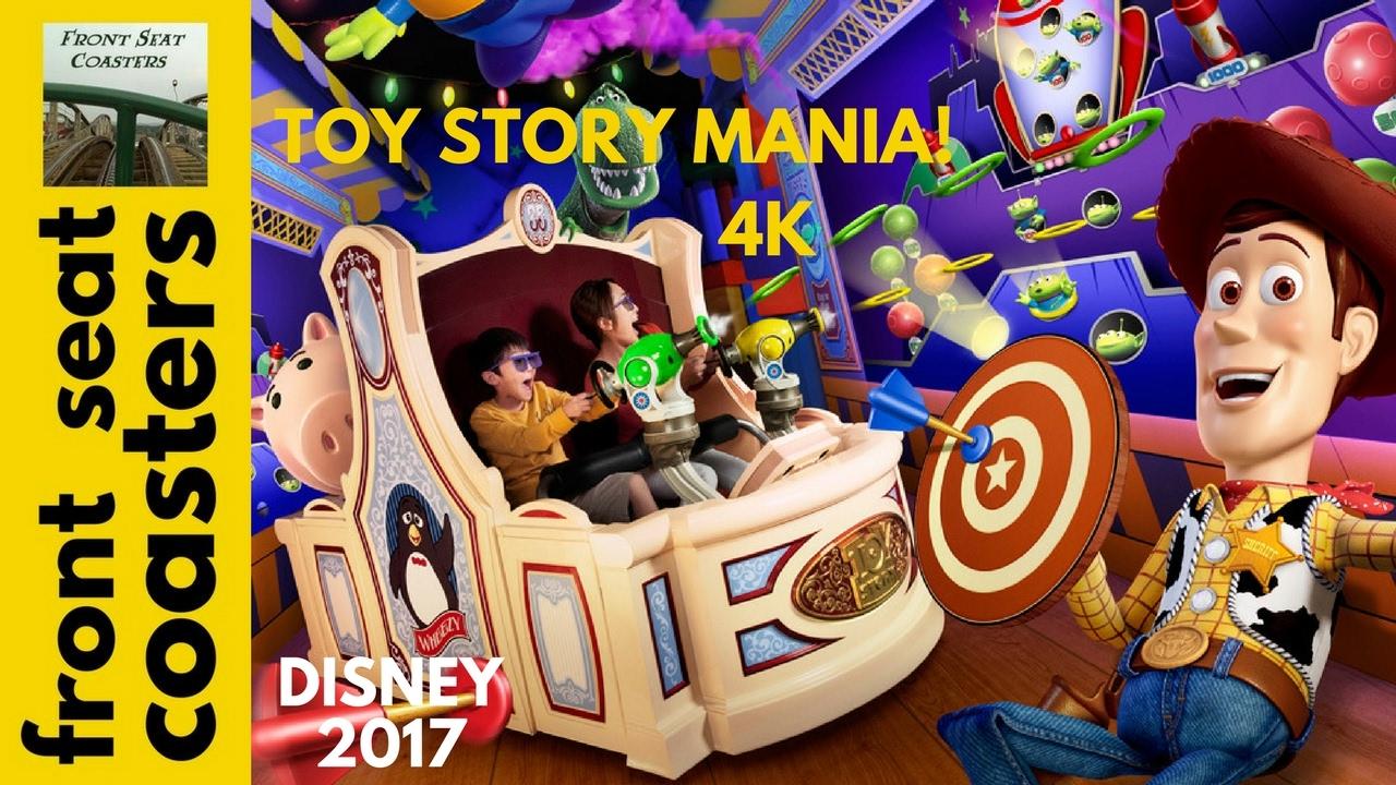 Toy Story Mania Pov 4k On Ride 2017 Hollywood Studios Interactive