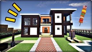【マインクラフト】モダンハウスを建築してみる【モダンな家の作り方】