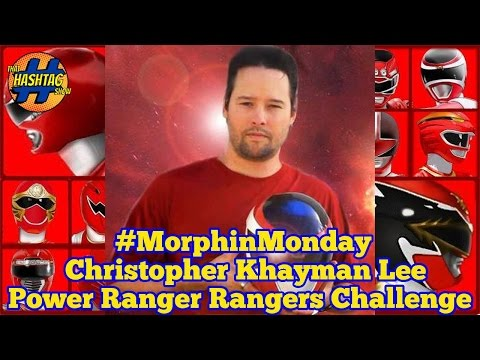Christopher Khayman Lee Ranger Challenge: Round 3  Power Rangers in Space  Morphin' Monday