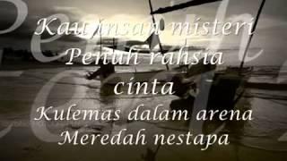 Repeat youtube video Di Badai Asmara   Lirik - Sera - YouTube
