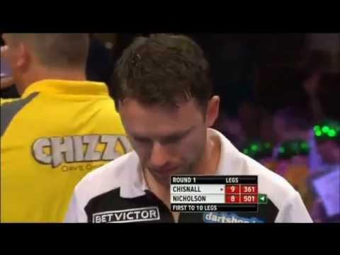 Nicholson crying - PDC World Matchplay 2013