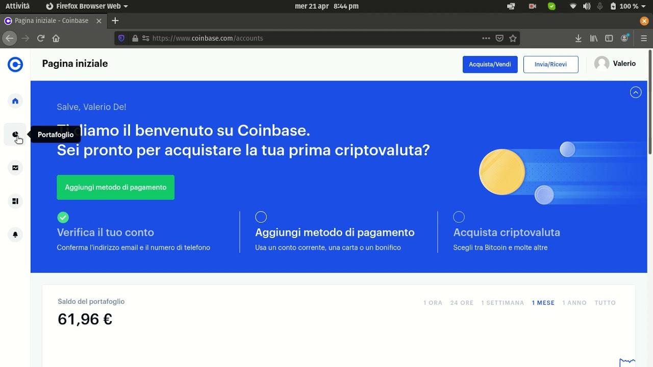 come prelevare bitcoin da coinbase)