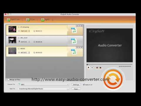 How to Convert AIFF Audio File to MP3 Format