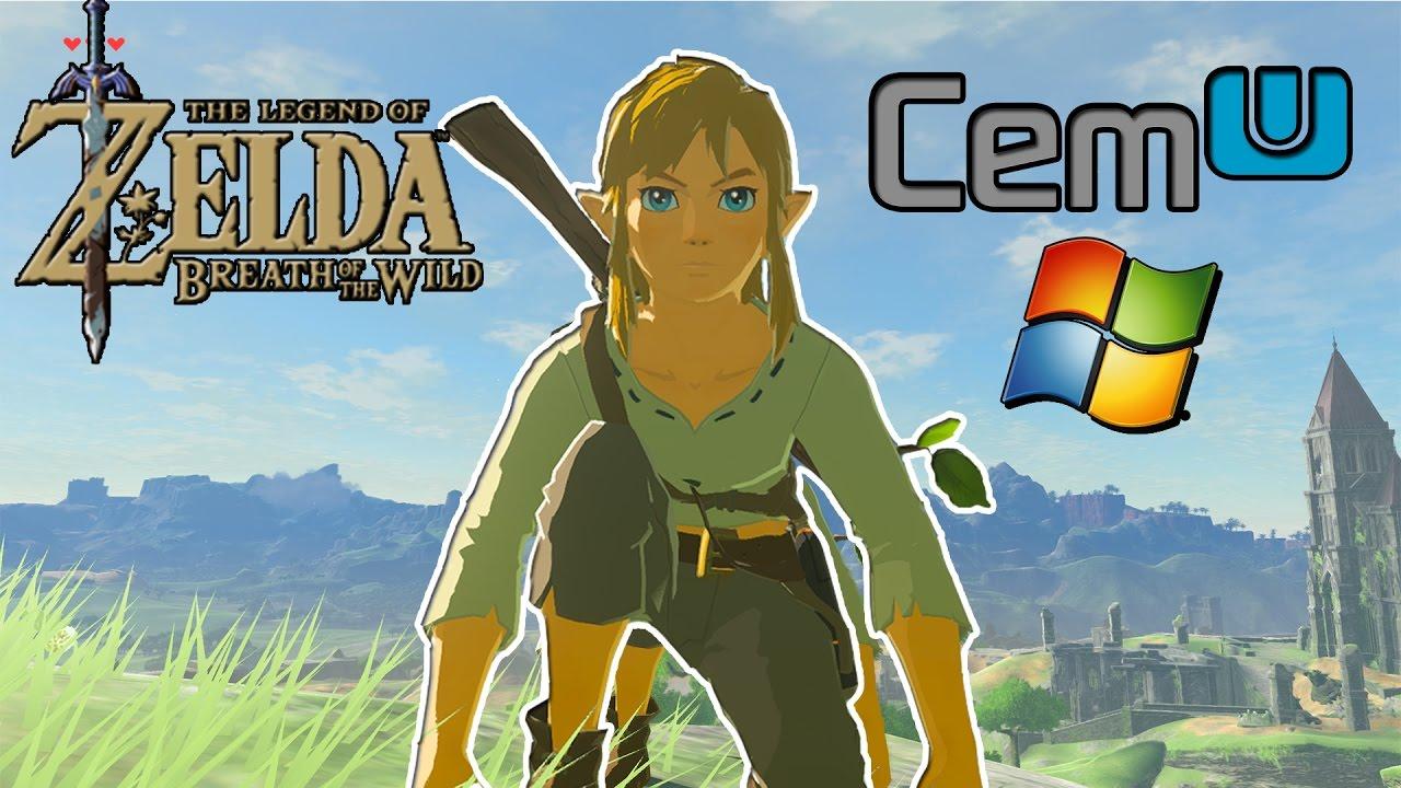 The Legend of Zelda: Breath of the Wild on PC CEMU emulator HD
