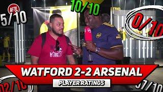 Watford 2-2 Arsenal | Player Rating Ft Troopz
