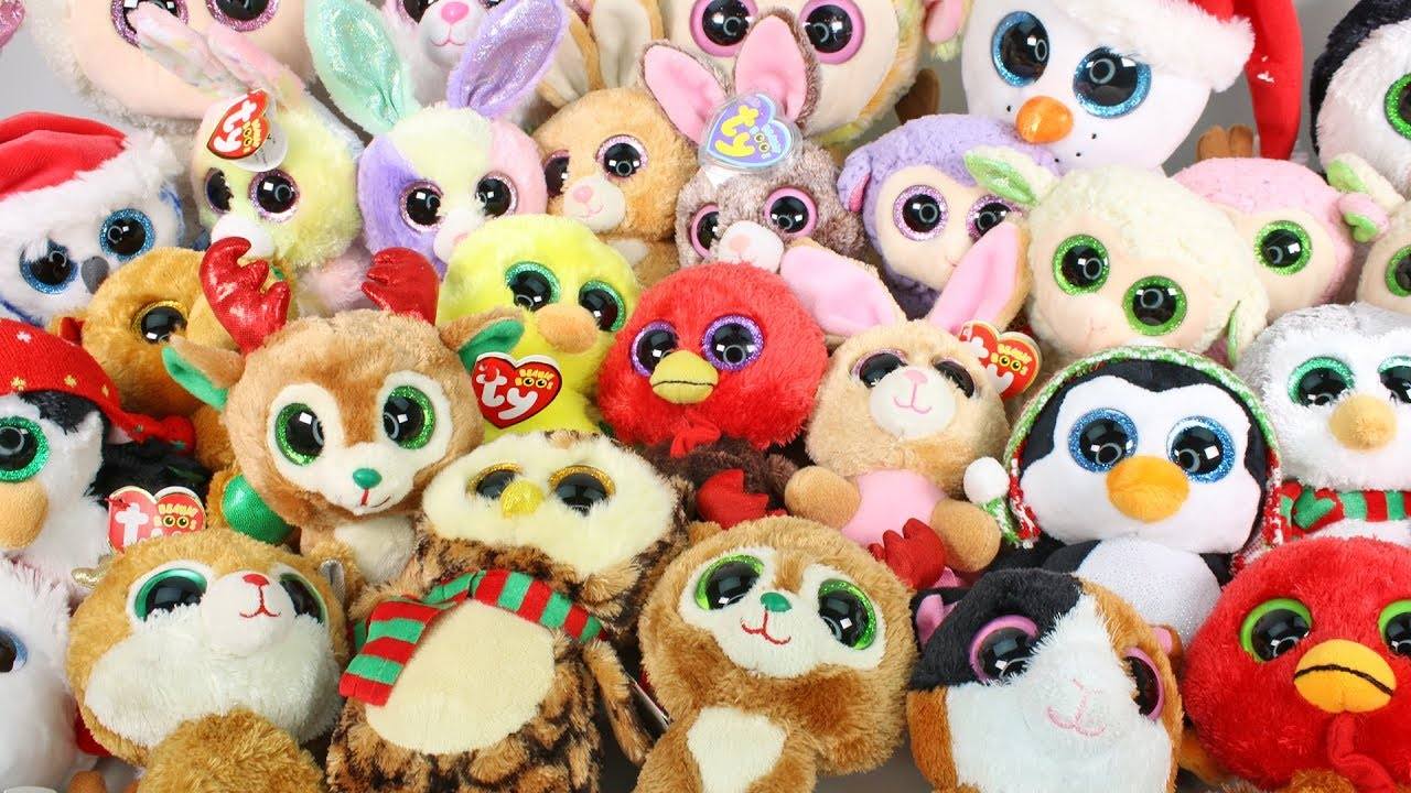 aa980d50a54 Mystery Beanie Boo Haul from eBay Unboxing Toy Review TY Beanie Boos Plush