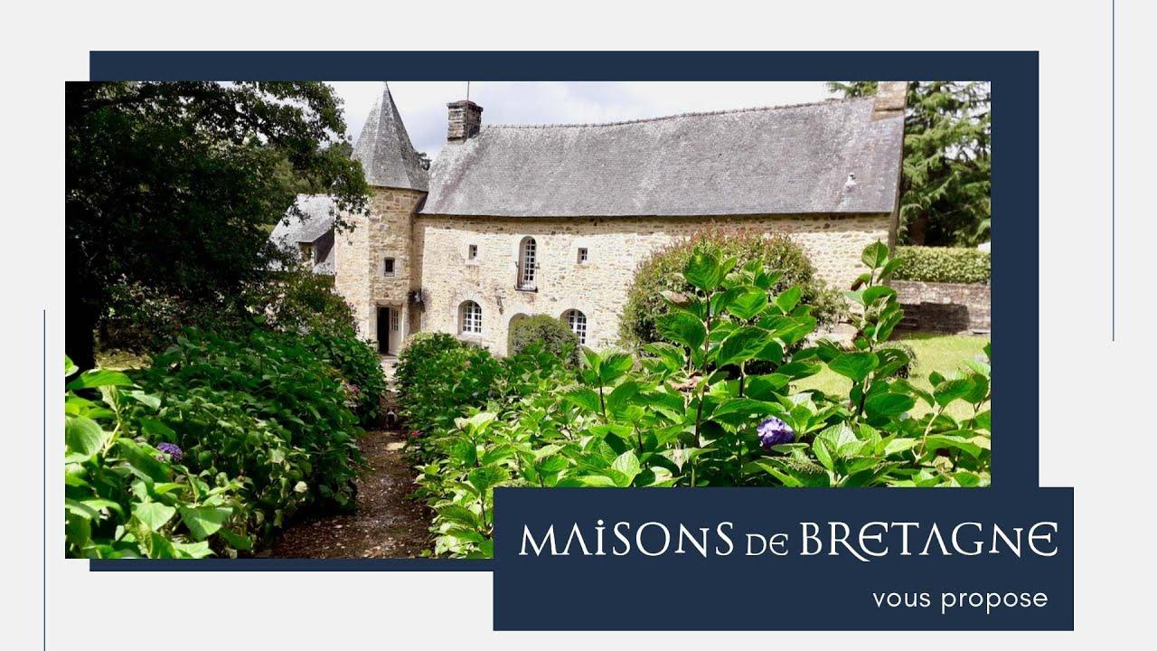 À vendre Maison de charme à la campagne à moins de 20 km de la côte | Morbihan | Bretagne Sud