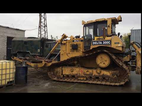 Кабелеукладчик Caterpillar D6R (2003) - DELTA 300C (2010) Cable Layer Tractor