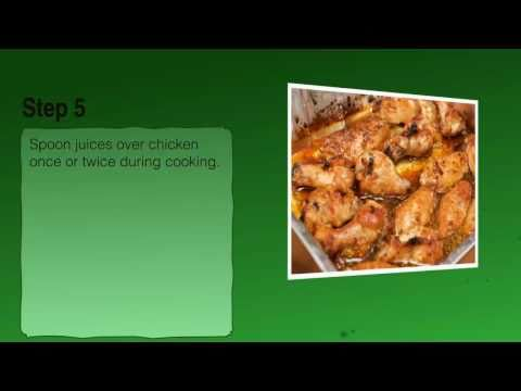 Baked Chicken with Vegetables Recipe