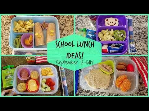 School Lunch Ideas! Back To School Ep.4