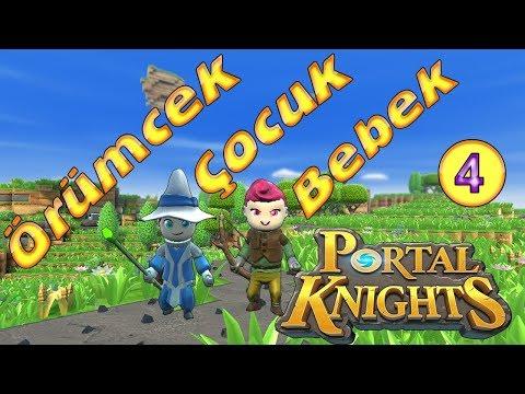 Örümcek Çocuk ve Örümcek Bebek Portal Knights Oynuyor
