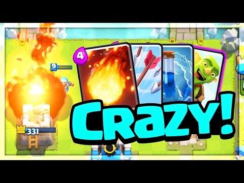 Can You Win With FOUR Spells in a Deck? Clash Royale Strategy that WORKS!