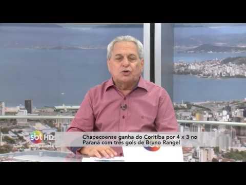 Miguel Livramento comenta as vitórias dos times catarinenses na Série A do Campeonato Brasileiro