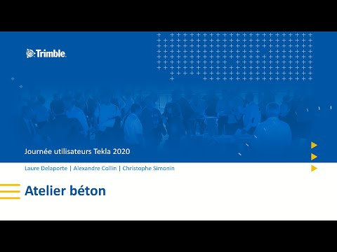 Nouveaux outils Tekla Structures pour le béton