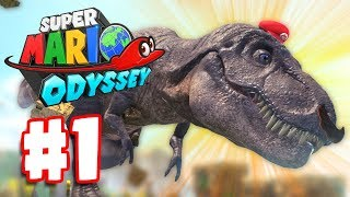 BEST MARIO YET! | Super Mario Odyssey Part 1 | Nintendo Switch Super Mario Odyssey Gameplay