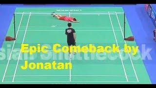 Jonatan Christie vs Shi Yuqi Badminton Asia Chionships FINAL
