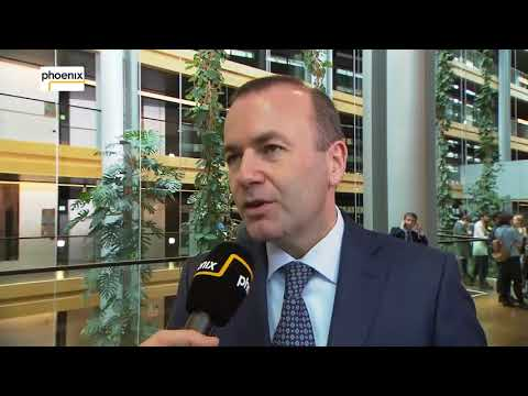 Video: Interview mit Manfred Weber (MdEP, CSU) am 14.11.17