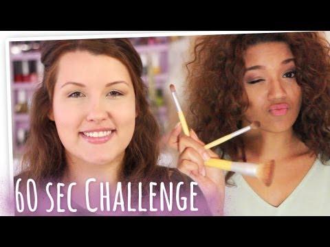 60 Sekunden Makeup Challenge l mit Michelle Burke