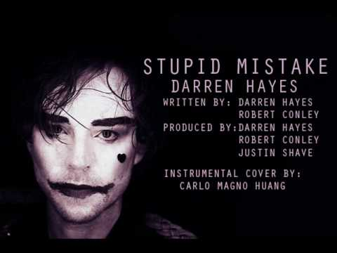Darren Hayes - Stupid Mistake (Cover by Carlo Huang).wmv