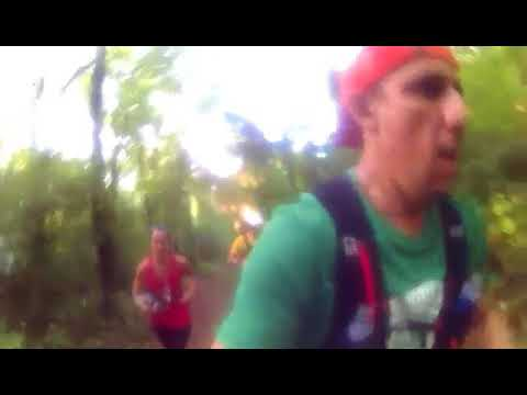 Only those who risk going far find out how far they can go trail running With Steve vida,Carisa Rot