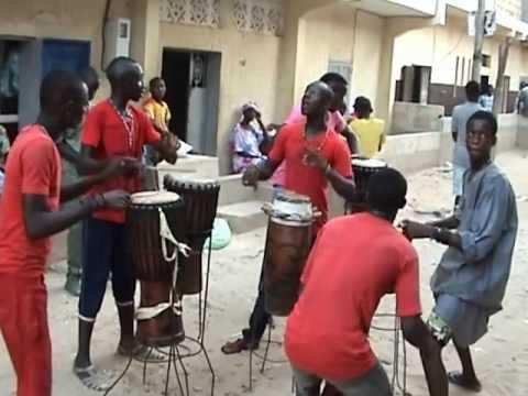 Danse Sénégalaise Sabar Percussions Cité Millionnaire Dakar