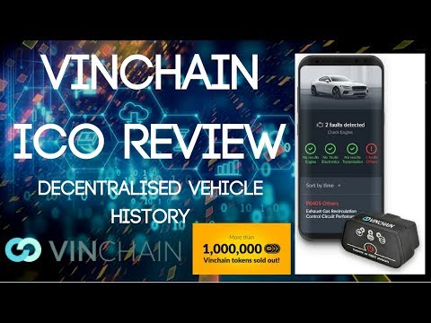 VinChain (VIN) | Vehicle History on the Blockchain (ICO Review)