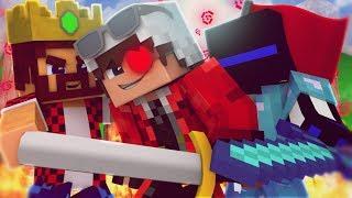 БИТВА ЗАМКОВ! АИД И ТЕРОСЕР МЕНЯ ДУШАТ СВОИМИ ШУТКАМИ! Minecraft Castles