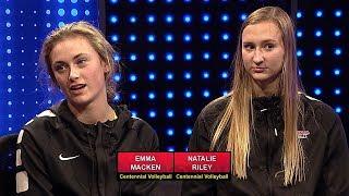 Centennial Volleyball Interview - Sports Den Fall Finale 2018