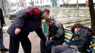 Реалити-шоу Бирюлёво Западное - Пиздец яйцам! Раздавлены...