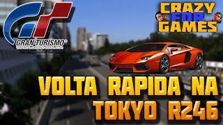Gran turismo 6 | Lamborghini Aventador - Tokyo R246 (Wheel Cam)