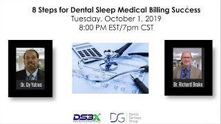 Webinar: 8 steps for dental sleep medical billing success