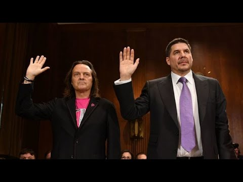 Inside the T-Mobile, Sprint CEO testimony to Congress