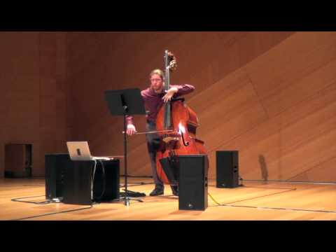 Cage - Solo for Bass with WBAI