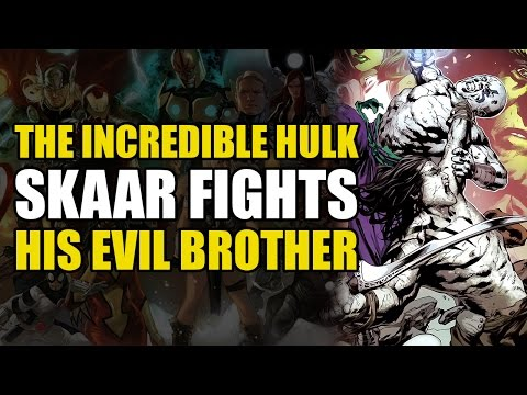 The Hulk's Sons Fight Each Other (The Incredible Hulks Vol 1: Skaar vs Hiro-Kala)