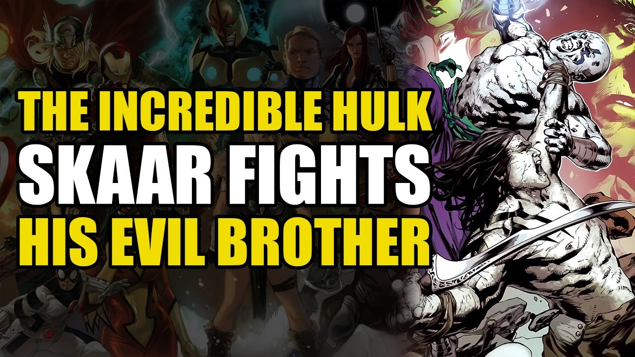 The Hulk's Sons Fight Each Other (The Incredible Hulks Vol