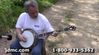 Stelling Red Fox 5-String Banjo Demo @ JDMC