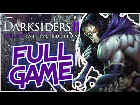 SPEED RUN! - Darksiders II Deathinitive Edition - FULL GAME! - PS4 Pro [1080p]
