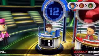 Wii Party U - Sketchy Situation - 3 Players