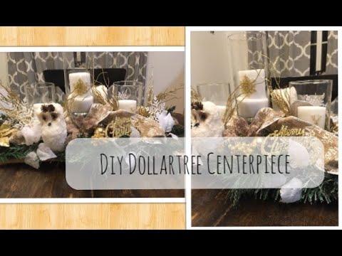 DIY Dollartree Christmas Centerpiece