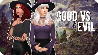 GOOD WITCH VS EVIL WITCH 🔮 | Sims 4 Create A Sim