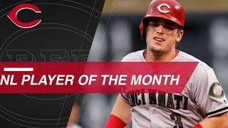 Scooter Gennett is NL Player of the Month for May