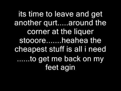 KISS cold gin with lyrics